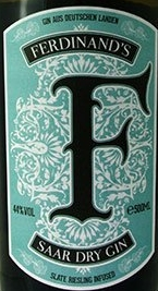 Ferdinands Saar Dry Gin Etikett