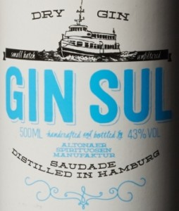 Gin Sul Etikett